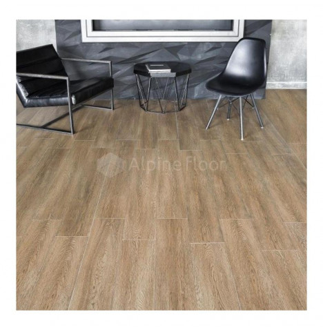 фото - Кварц-винил Alpine Floor INTENSE ECO 9 -3 БУРЫЙ ЛЕС