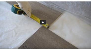 Видео-инструкцию по монтажу кварц-винилового покрытия AQUAFLOOR