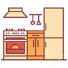 кварцвинил для кухни